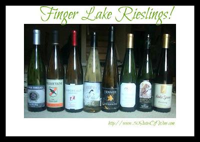 Finger Lakes Rieslings