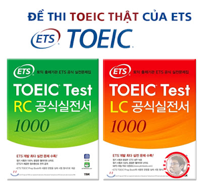 Sách ETS TOEIC LC 1000 + RC 1000