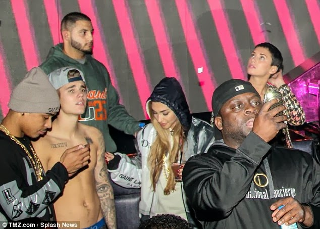 Justin Bieber's drag racing girl 'Chantel Jeffries'