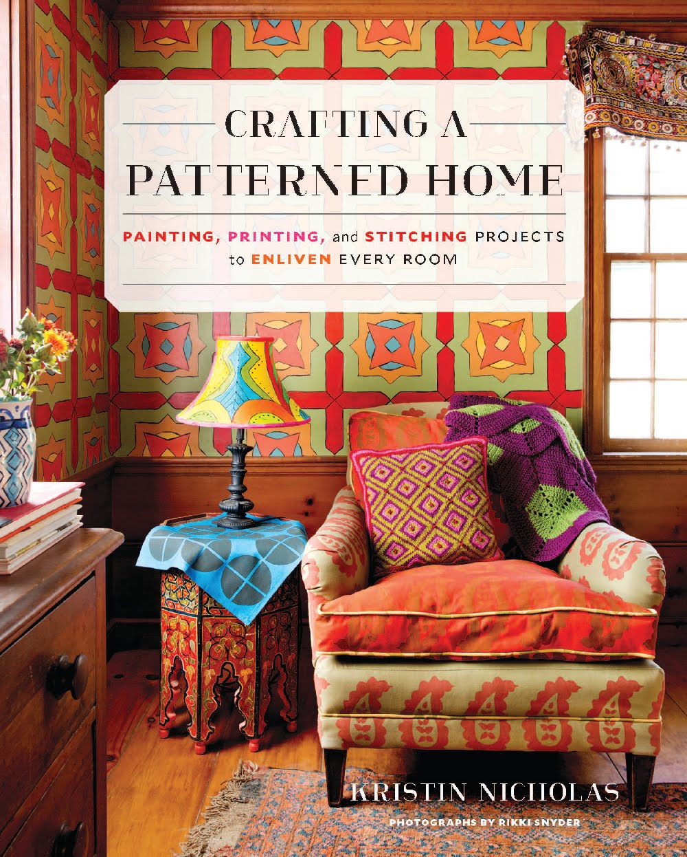 MY NEW BOOK CRAFTING A PATTERNED HOME JUST OUT
