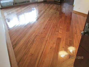 Restauración piso de madera