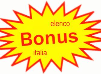 Elenco dei bonus detrazioni fiscali ed incentivi attivi for Mobilifici italiani elenco fabbriche mobili in italia