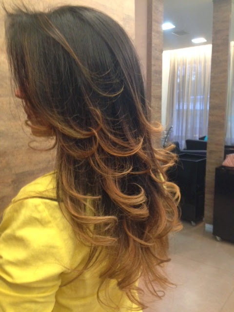 Ombre Hair - Orange Beauty Studio