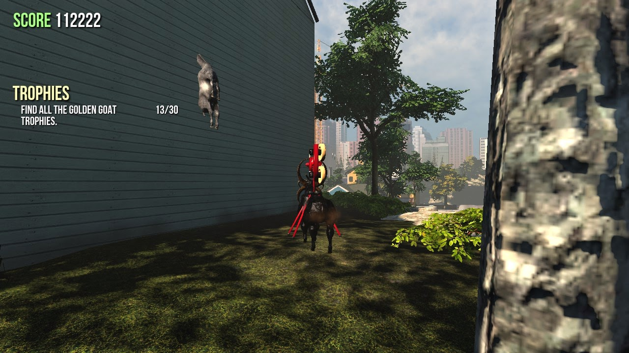 goat simulator screenshot glitch