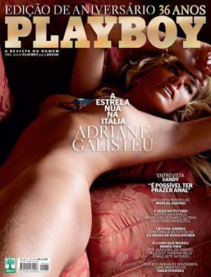 Galisteu Pelada Playboy