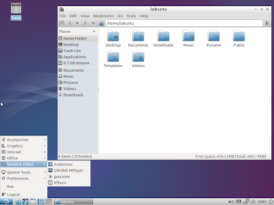 Lubuntu 14.10 Utopic Unicorn Beta 1