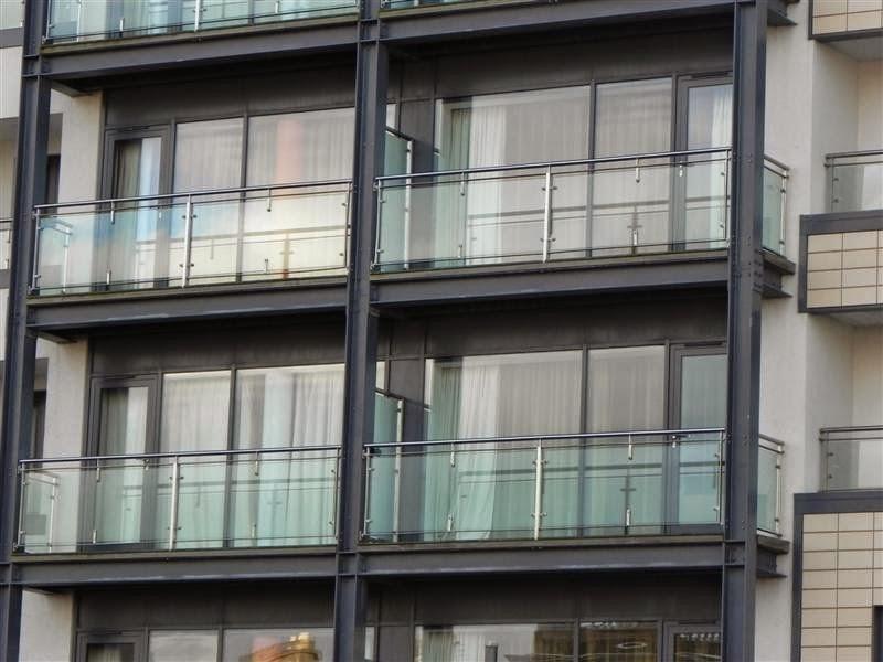 Ark railing manufacturer for Ss glass railing images