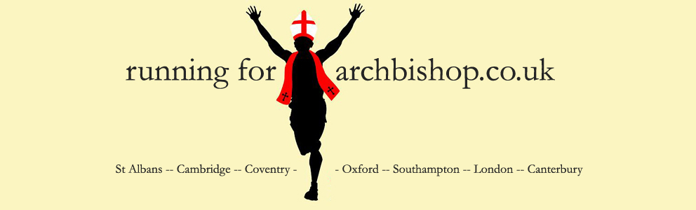 Running For Archbishop