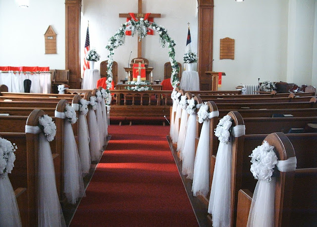 Wedding Decorations For The Church