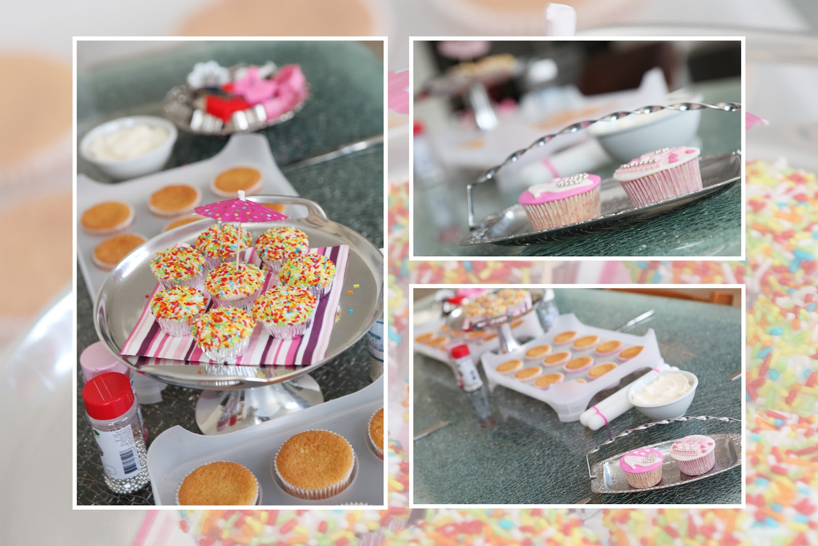 Cake Chique Kinderfeestje Cupcakes Decoreren