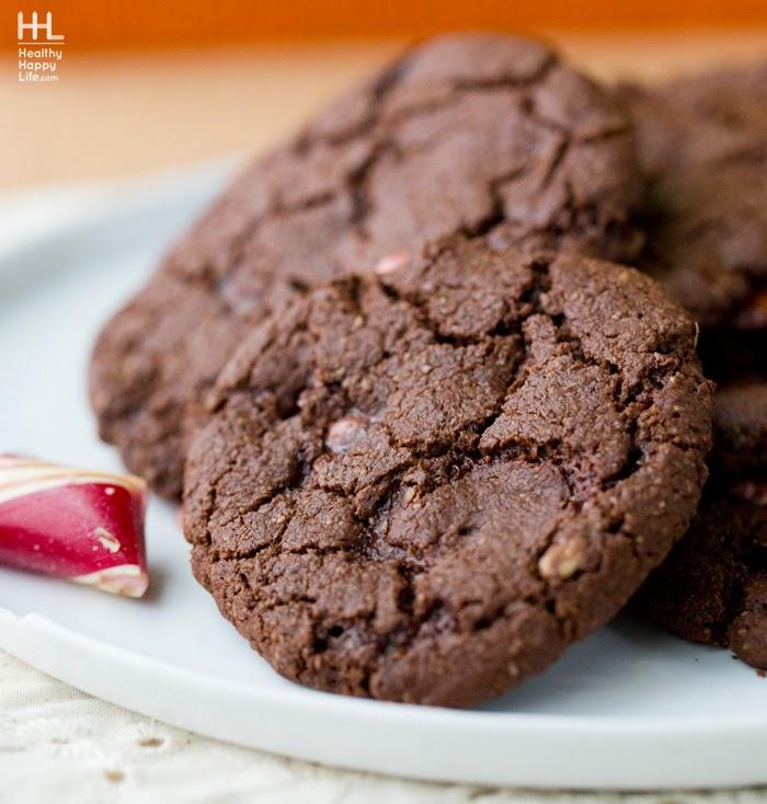 Cocoa Candy Cane Cookies Vegan Cookbook Giveaway Vegan Recipe