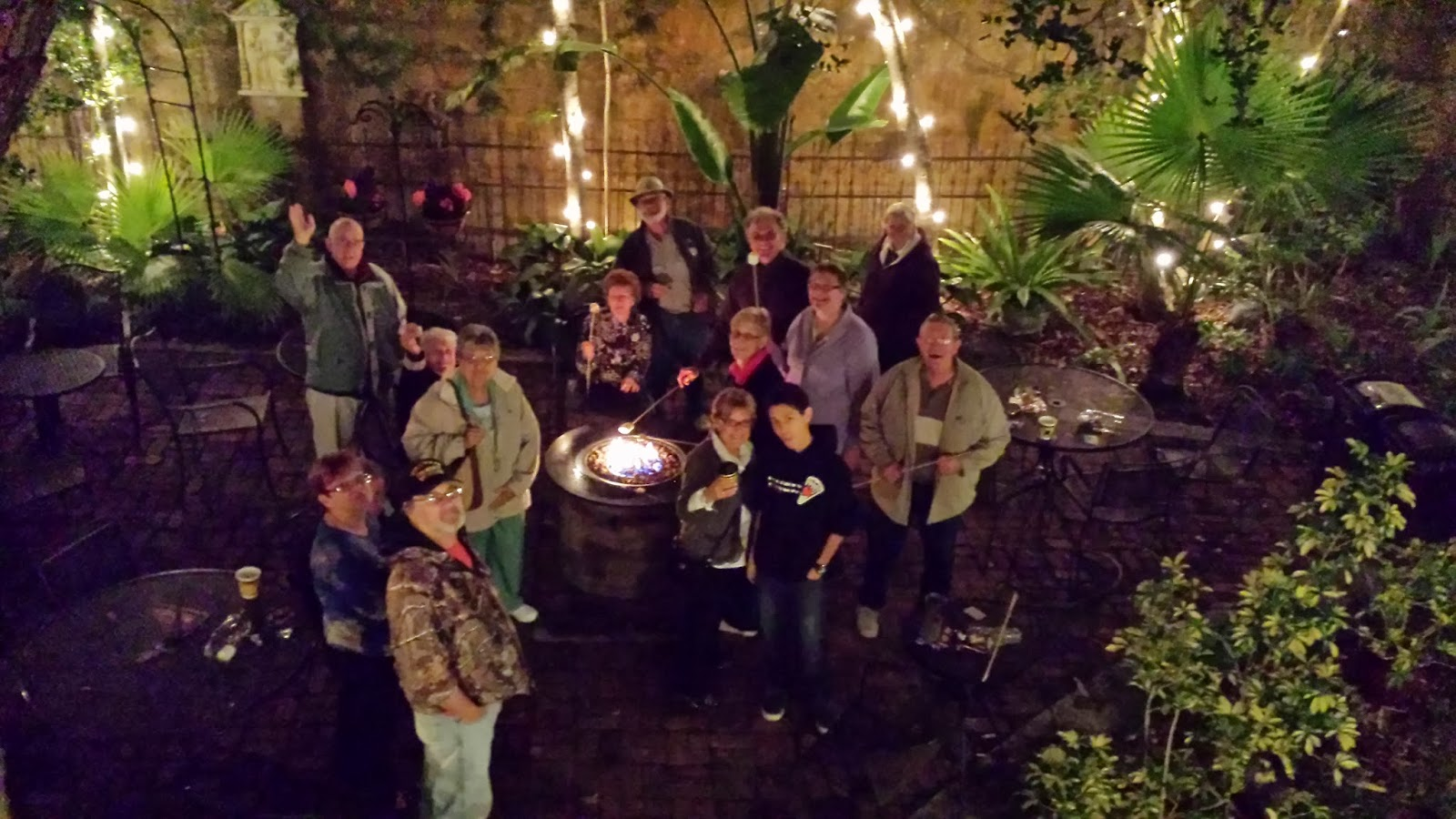 Chilly Nights are S'More Fun at the St. Francis Inn! 1 20140115 205012 St. Francis Inn St. Augustine Bed and Breakfast