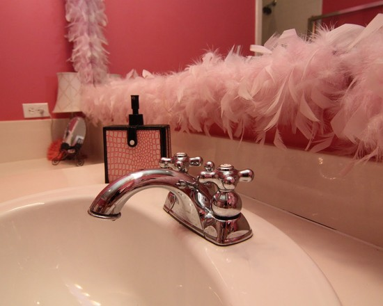 do you love girly style to design your bathroom maybe this picture can inspire you to remodelling your girly bathroom design