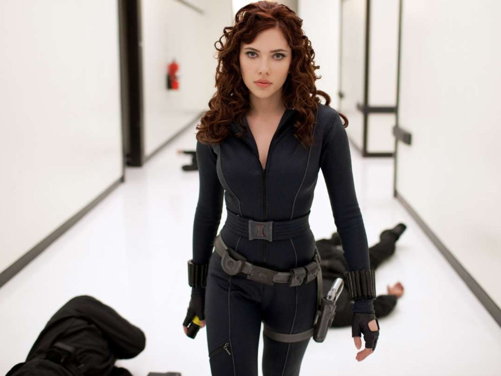 Beautiful Black Widow Scarlett Johansson