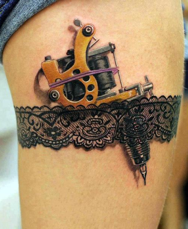Tattoo Machine 3D Tattoo