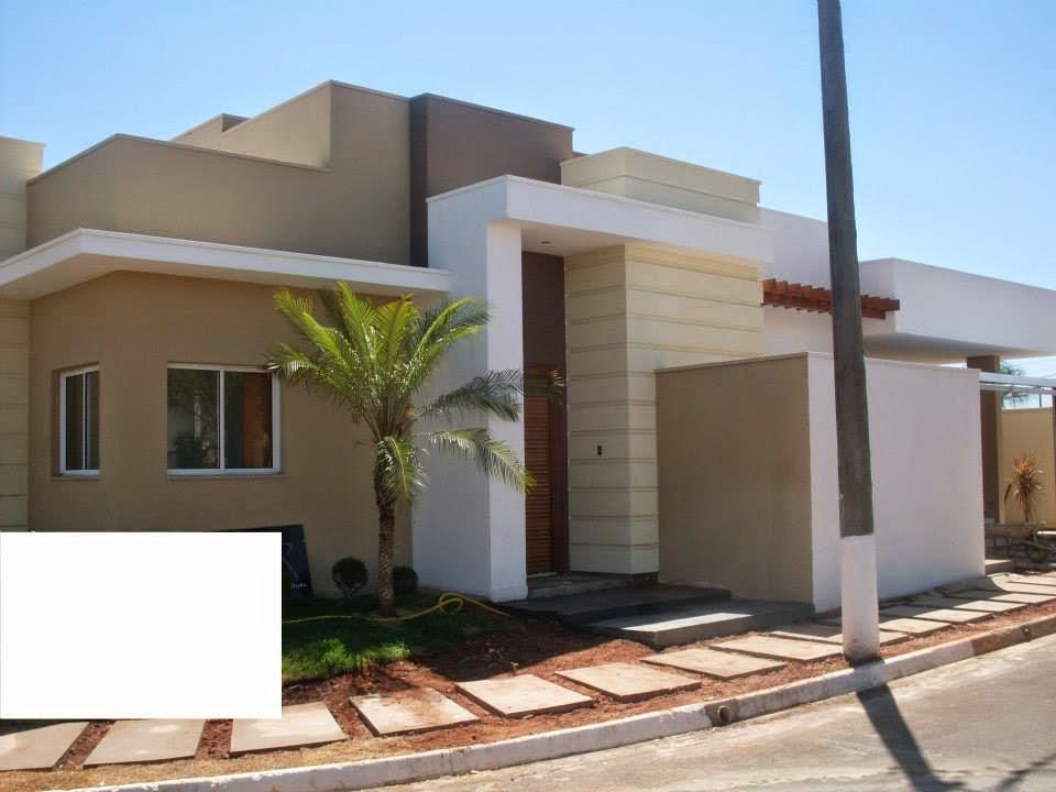 Casas bonitas cores nas fachadas for Cores modernas para fachadas de casas 2016