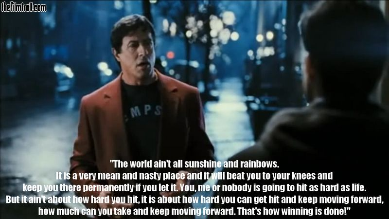inspirational rocky quotes quotesgram