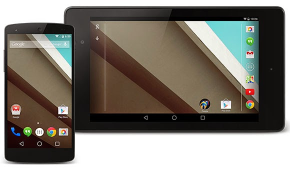 Android L announced, here is a Preview