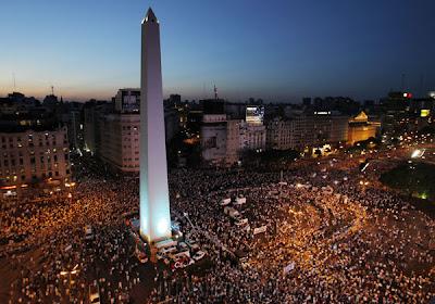 la proxima guerra cacerolada manifestaciones protestas buenos aires argentina revolucion
