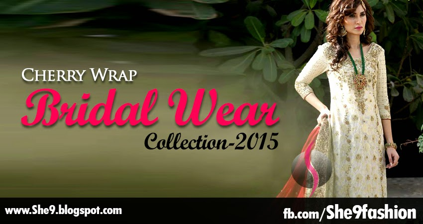 Cherry Wrap Bridal Collection 2015