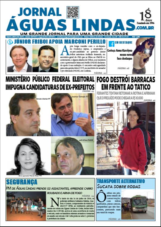 edição 217 do Jornal Águas Lindas