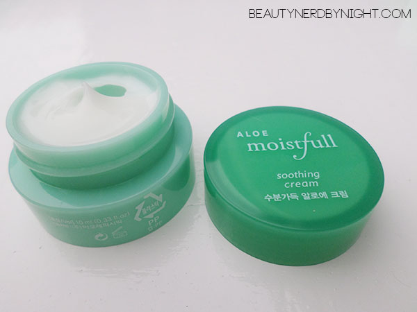 Bag of Love July 2013: Etude House ALOE Moistfull Soothing Cream