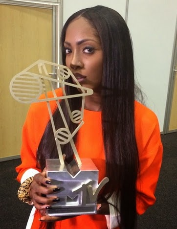 tiwa savage mama 2014 awards