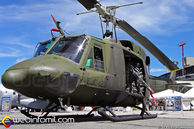 UH-1N Ejercito Colombia Army