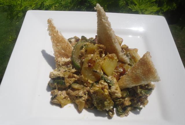 La cocina plural fritada aragonesa seg n receta de casa for Cocina aragonesa zaragoza