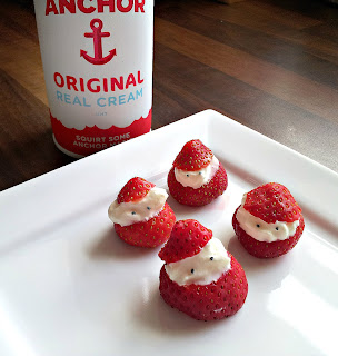 Anchor Butter, Anchor Rewards Club, Strawberry Santas