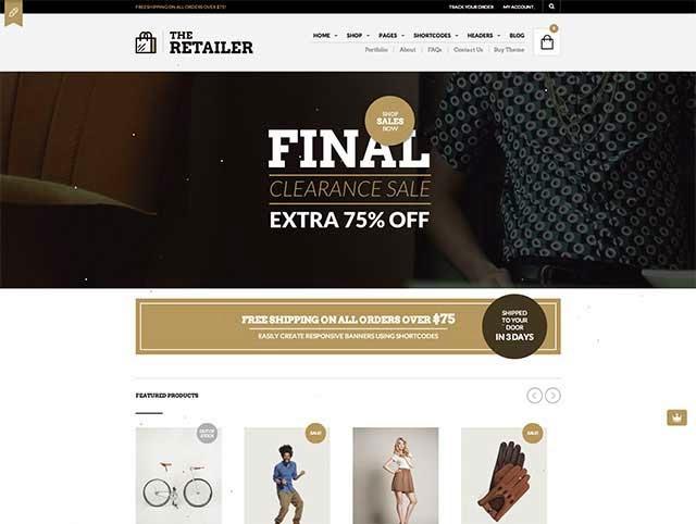 The Retailer - Retina Responsive WooCommerce Theme