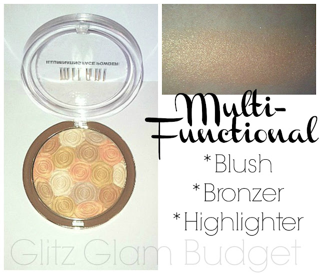 Milani Face Powder Swatches