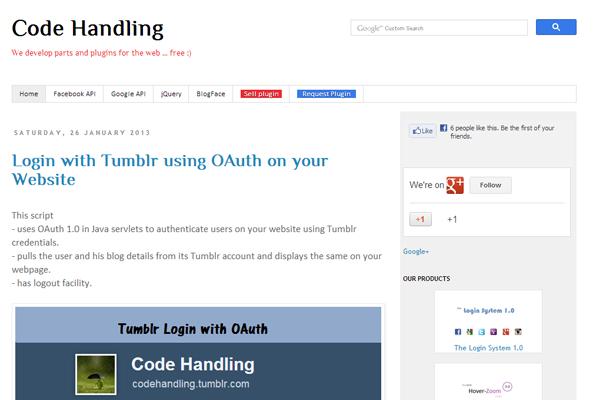 Code Handling