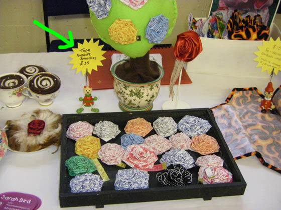 Selling at craft markets and fairs how to set up your for Sewing to sell at craft fairs