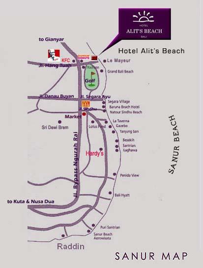 Menginap di Hotel Alit's Beach Bali
