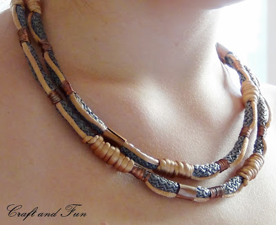 Paracord necklace, riciclo creativo collane
