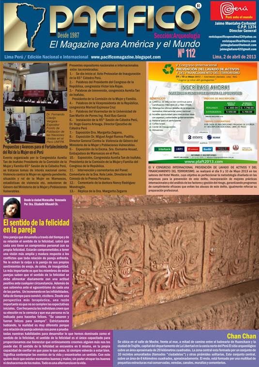 Revista Pacífico Nº 112 Arqueología