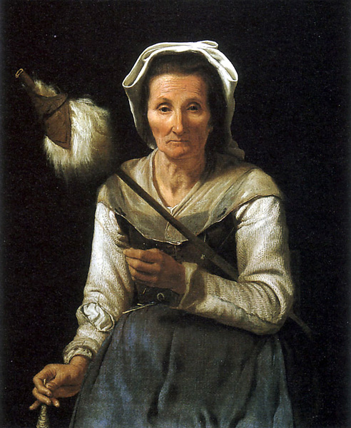 Art beauty and well ordered chaos and a distaff 1646 48 old woman spinning micheal sweerts flemish sciox Gallery