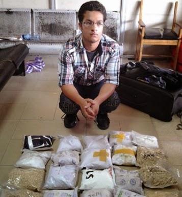 pakistani student arrested drug nigeria