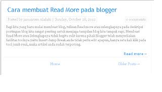 Cara membuat Artikel terkait di blog