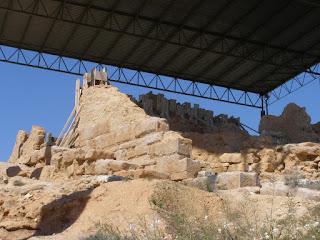 restos  ciudad celtíbera Botorrita