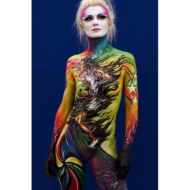 full body painting festival 2014 full body painting festival 2014