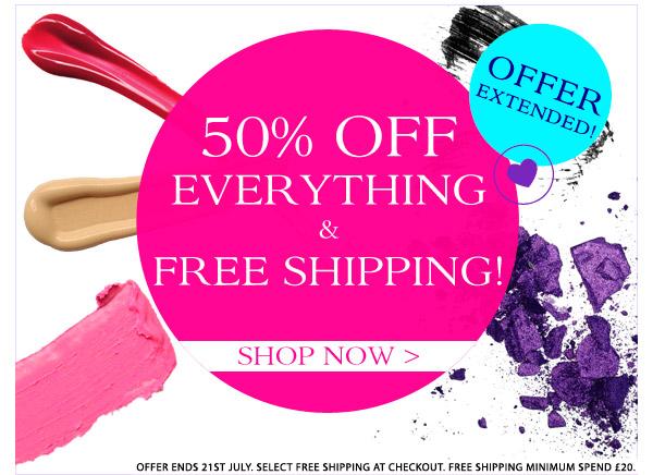 VIVO Cosmetics - Sconto 50% su tutto e spedizione gratis