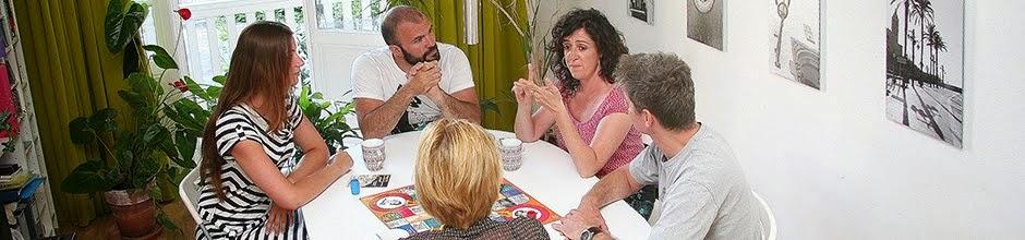 Spaans spreken bij Elisenda