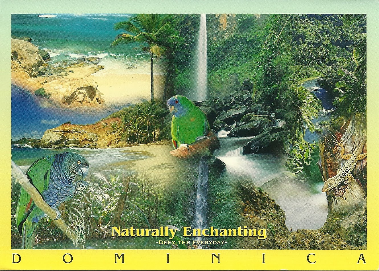 Postcards a world travelogue dominica and stcia world heritage caribbean dominica rosseau this island is not a very big destination as far as cruises are concerned but it is sure very good to visit sciox Images
