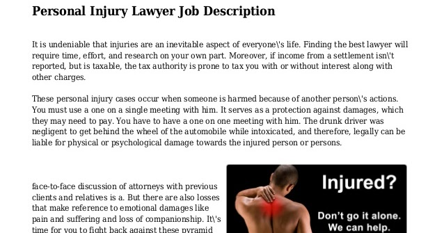 A Quick Breakdown Of Deciding On Necessary Factors For Criminal Lawyer Job Description