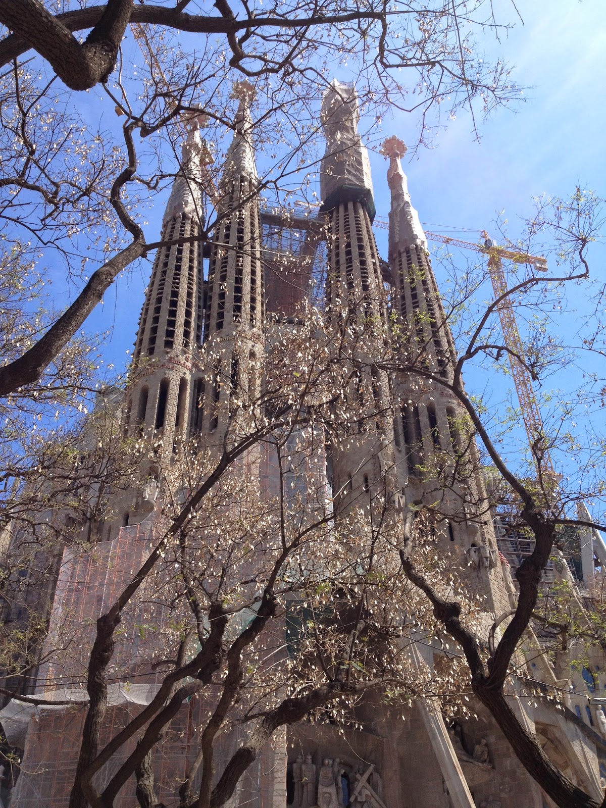 external sagrada familia barcelona