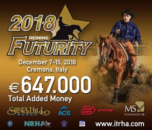 FUTURITY IRHA E FINALI NAZIONALI 2018