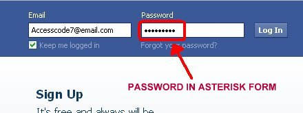 how to stop inspect element password in chrome