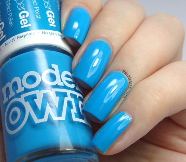 Models Own Hyper Gel Blue Glint